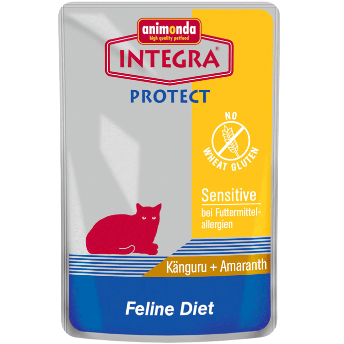 Animonda Integra Protect Sensitive Kangoeroe & Amaranth Zak 85 g 4017721866057