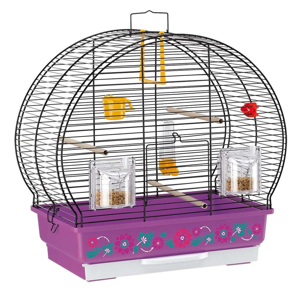 Ferplast Cage - Luna 2 Decor Violet