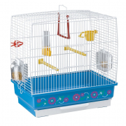 Cage - Rekord 2 Decor White 39x25x41 cm