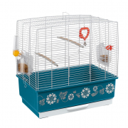 Cage - Rekord 3 Decor White 49x30x48.5 cm