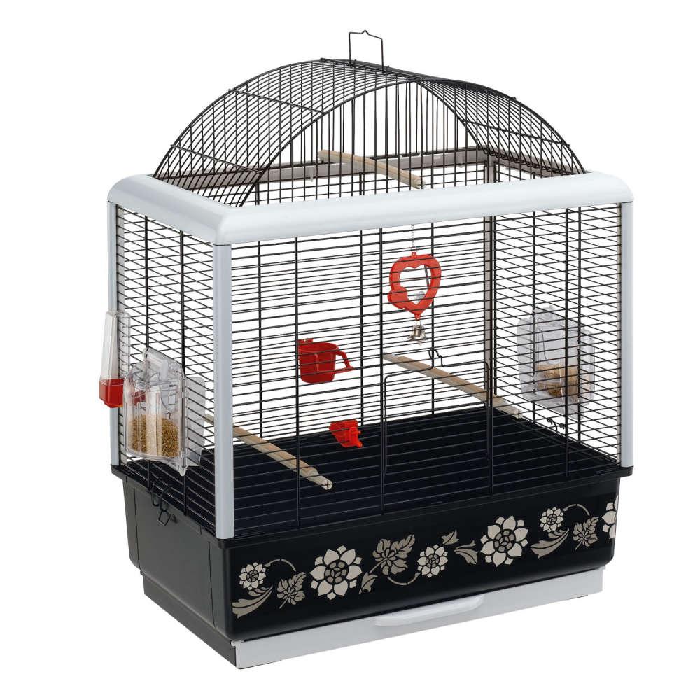 Ferplast Cage - Palladio 3 Decor Black 50x30x64 cm