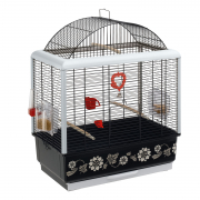 Cage - Palladio 3 Decor Black 50x30x64 cm