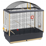 Cage - Palladio 5 Black 71x38x78 cm