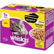 Whiskas Casserole Poultry Selection in Jelly 1+, Megapack - EAN: 3065890133822