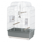 Cage - Gala White 50x30x75.5 cm