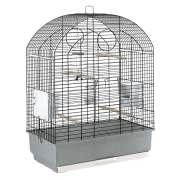 Cage - Viola Black O/Stand 59x33x80 cm