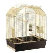 Cage - Greta Brass O/Stand 69.5x44.5x84 cm