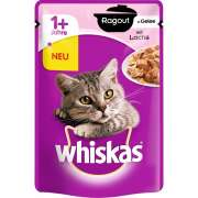 Whiskas Casserole - Salmon in Jelly 1+ 85 g