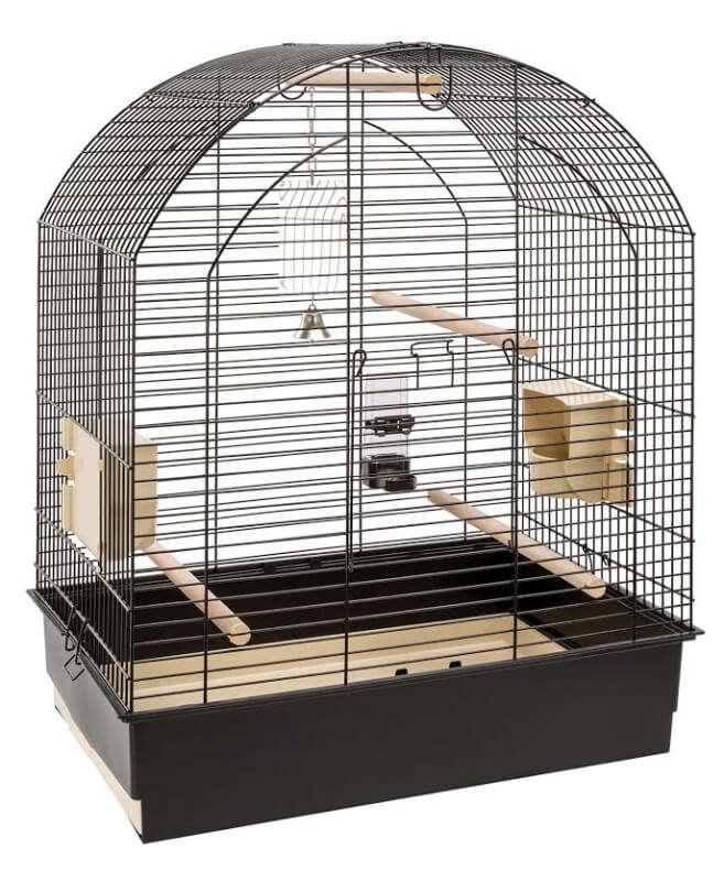 Ferplast Cage - Greta Black O/Stand