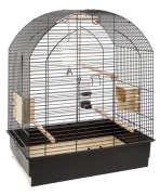 Cage - Greta Black O/Stand 69.5x44.5x84 cm
