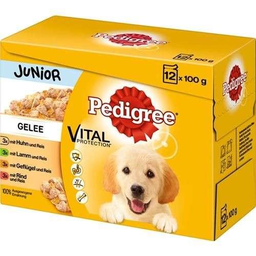 Pedigree Multipack Junior in Gelee 12x100 g