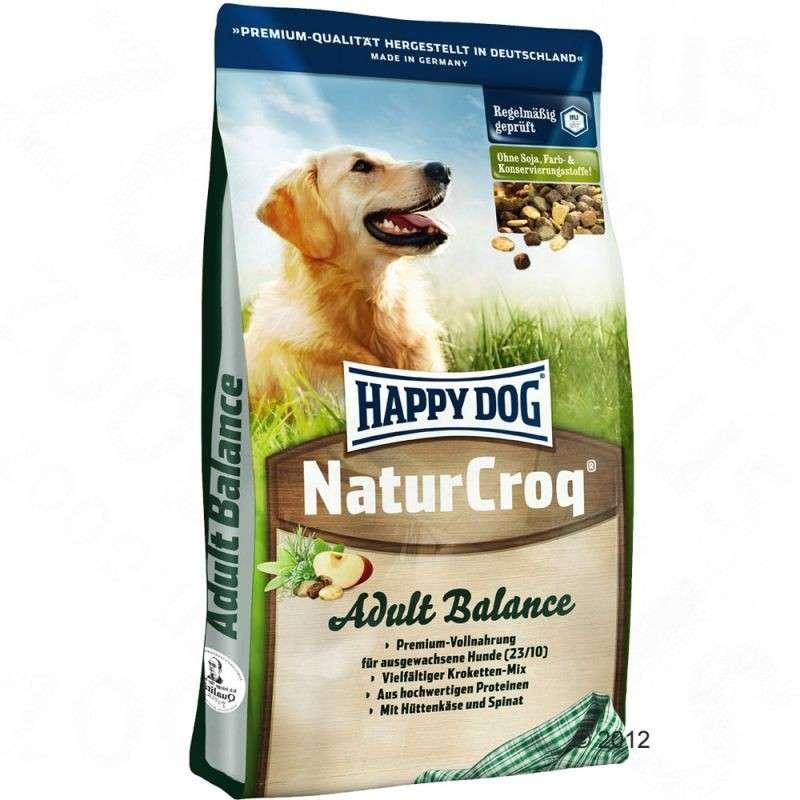 NaturCroq Adult Balance from Happy Dog 4 kg, 15 kg, 1 kg buy online
