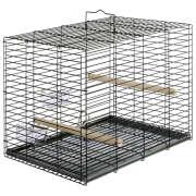 Transport cage for parrots 51x37.5x40 cm