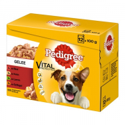 Pedigree Multipack Maaltijdzakjes Adult Favourites 12x100 g
