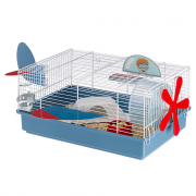 Cage - Criceti 9 Plane White 60.3x47x28.3 cm for smådyr