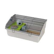 Cage - Criceti Deluxe Grey 76x45x33.5 cm