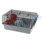 Cage - Milos Large Black 58x38x30.5 cm for smådyr