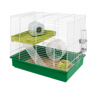 Cage - Hamster Duo White 46x29x37.5 cm