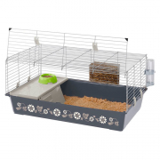 Cage - Rabbit 100 Grey 95x57x46 cm