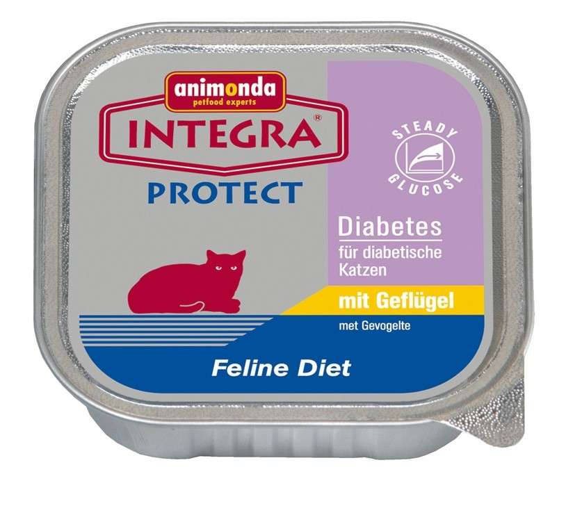 Integra Protect Diabetes with Poultry by Animonda 100 g buy online