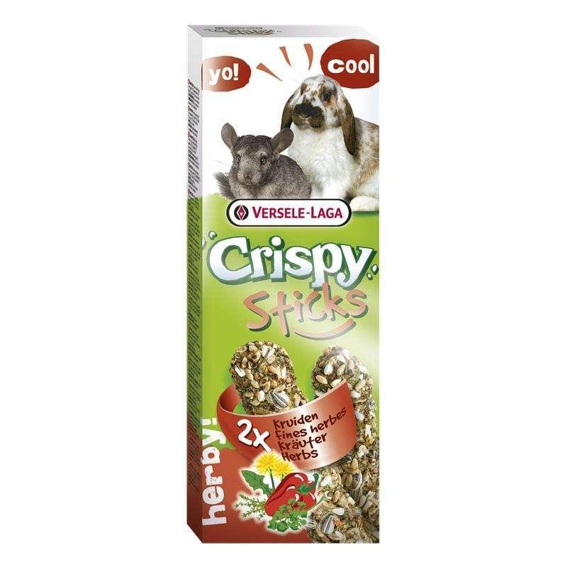 Versele Laga Crispy Sticks Kruiden  voor Konijnen & Chinchilla's 110 g