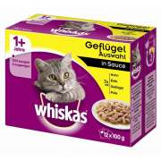 Whiskas Multipack 1+ Poultry selection in Sauce Art.-Nr.: 12498