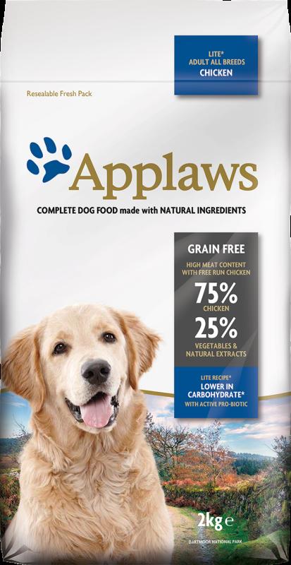Applaws Adult All Breeds Lite, Kip 7.5 kg, 2 kg