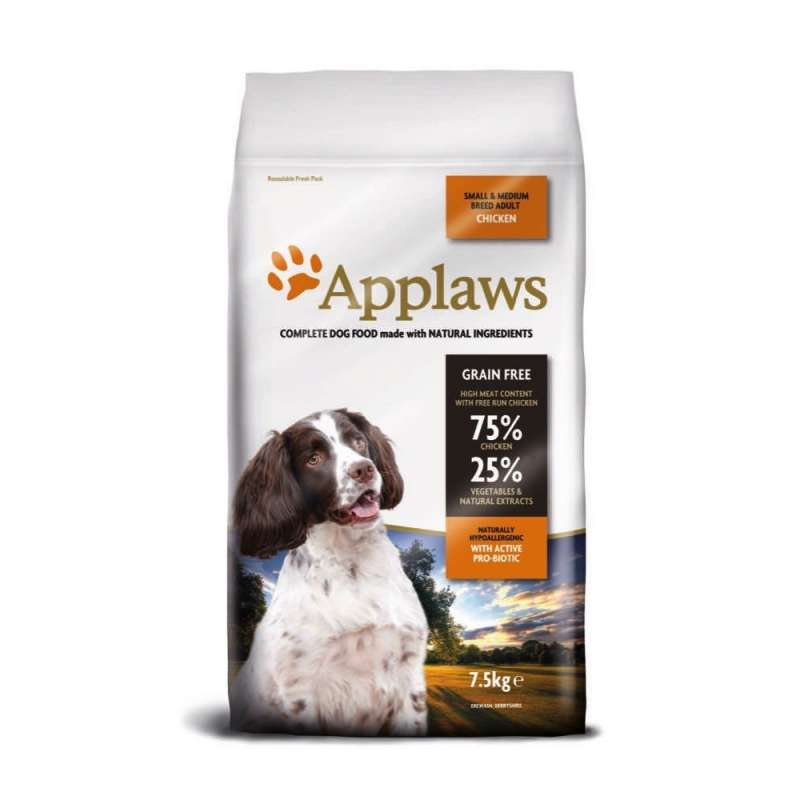 Applaws Adult Small & Medium Breed mit Huhn 2 kg, 15 kg, 7.5 kg online bestellen