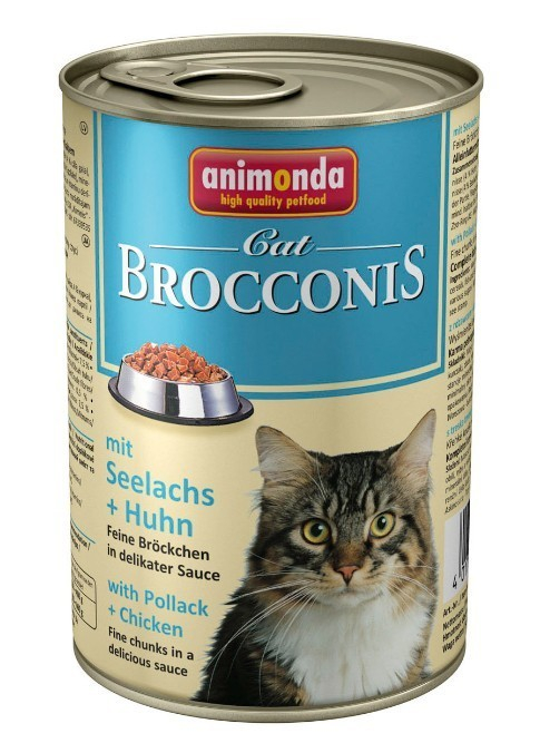 Animonda Brocconis avec Colin & Poulet 400 g