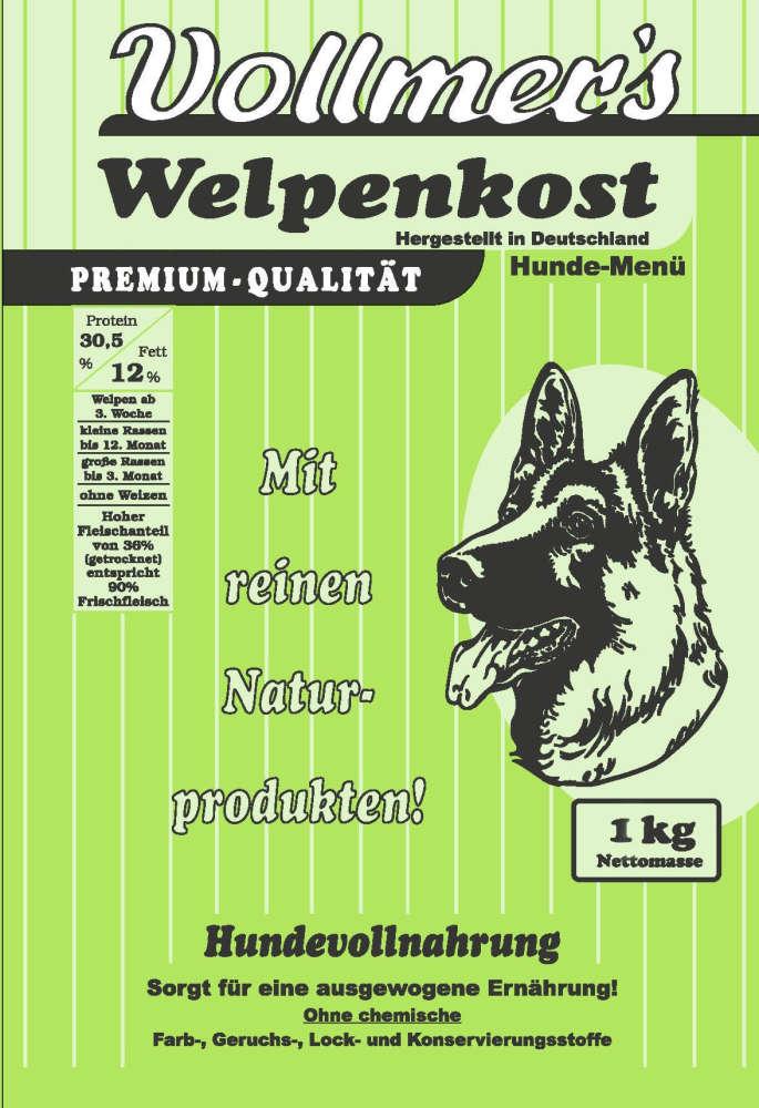 Vollmers Cachorros - Sin Trigo 1 kg