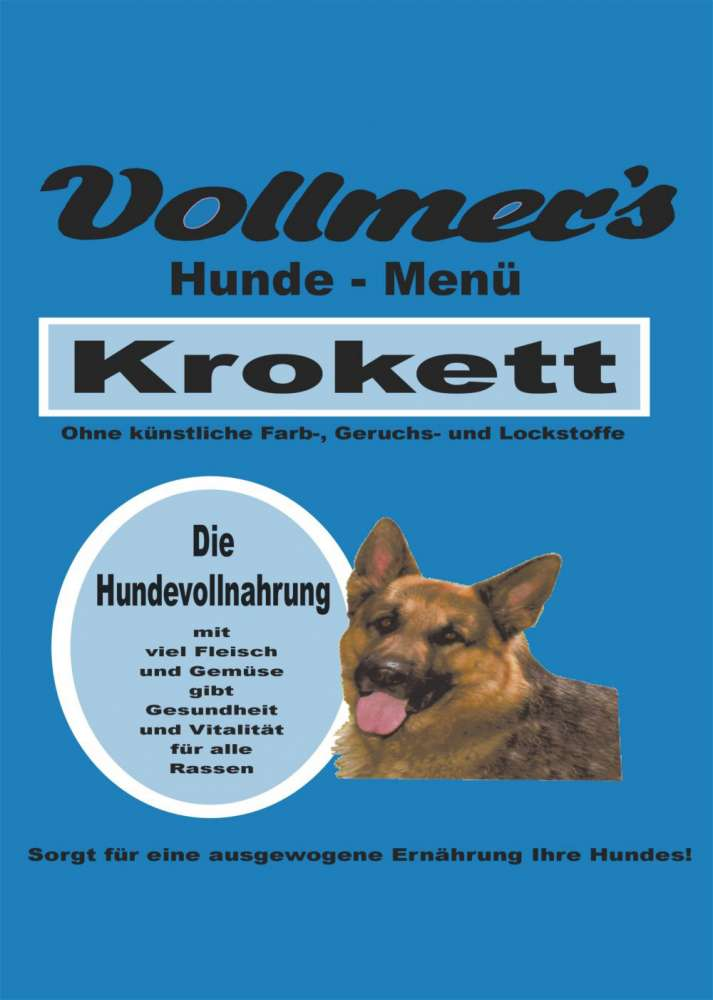 Vollmers Krokett 1 kg, 15 kg, 5 kg