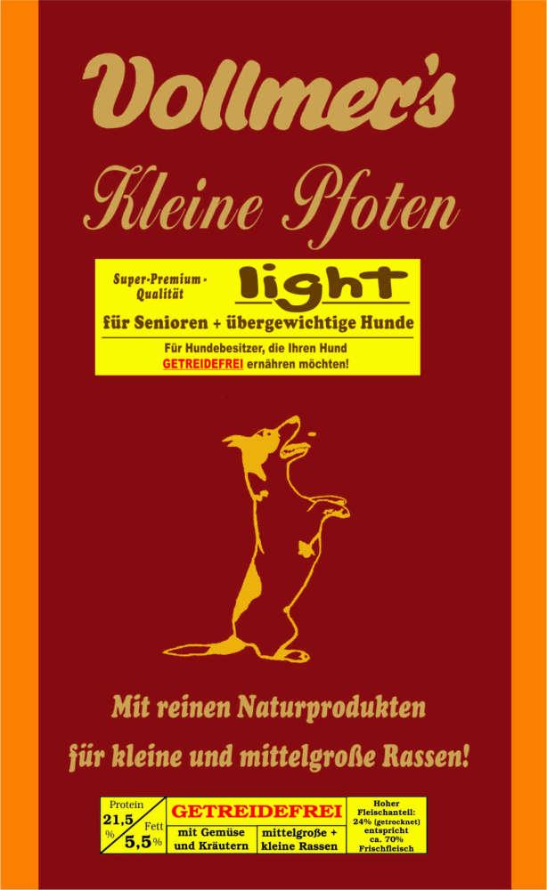 Vollmers Pequeñas Patas Light - Sin trigo 1 kg