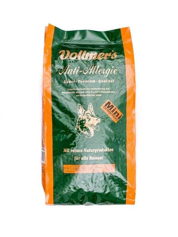 Vollmer's Anti-Allergie Mini - Sin Granos 1 kg