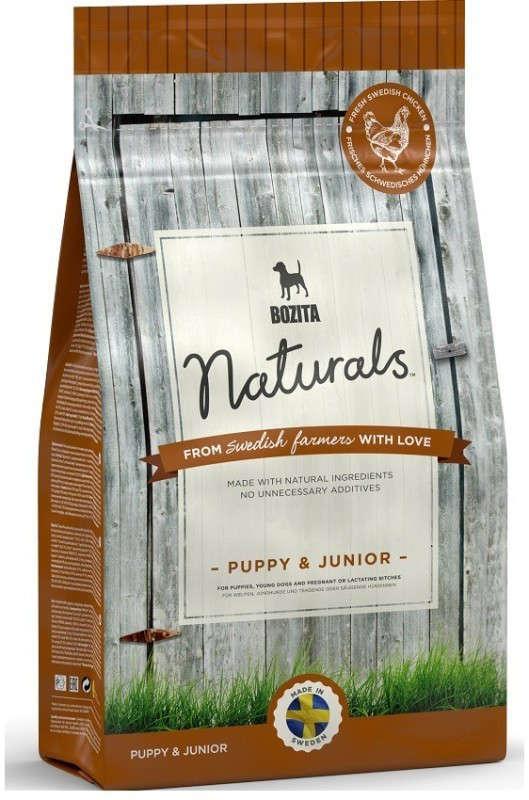 Bozita Naturals Puppy & Junior 950 g, 9 kg, 3.5 kg