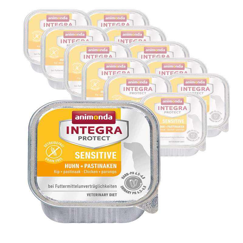 Animonda Integra Protect Sensitive Adult Poulet et Panais 400 g, 150 g