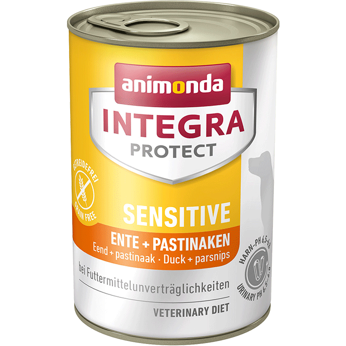 Animonda Integra Protect Sensitive Adult Pato y Nabos 400 g