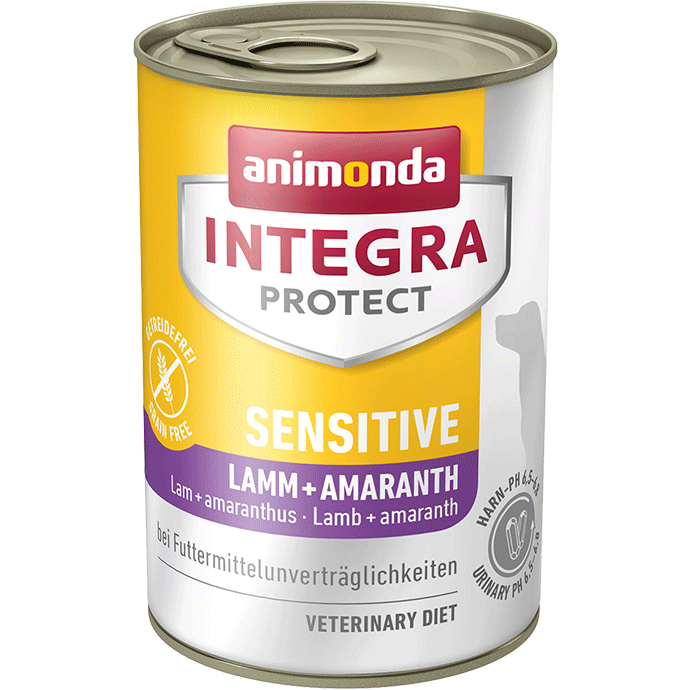Animonda Integra Protect Sensitive Adult Agneau et Amaranthe 400 g