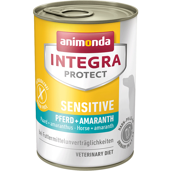 Animonda Integra Protect Sensitive Adult Cheval + Amaranthe 400 g