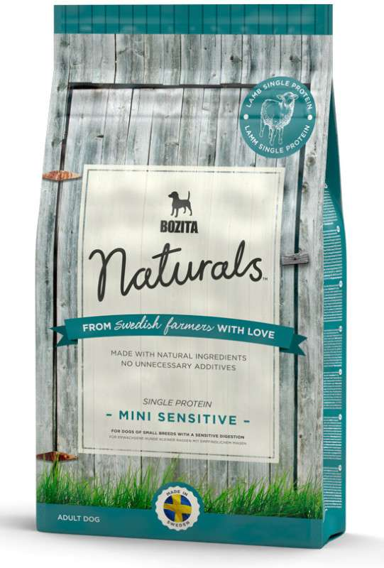 Bozita Naturals Mini Sensitive Single Protein 3.5 kg, 9 kg, 950 g
