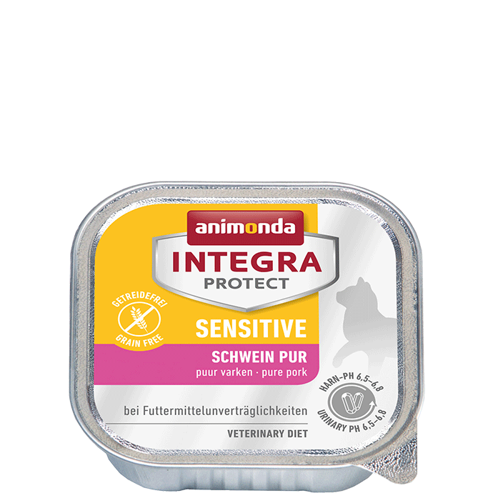 Animonda Integra Protect Sensitive Adult Pure Pork 100 g, 200 g test