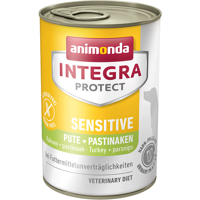Animonda Integra Protect Sensitive Adult Dinde et Panais 400 g, 150 g