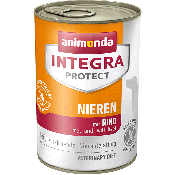 Integra Protect Renal Adult with Beef from Animonda 400 g, 150 g buy online