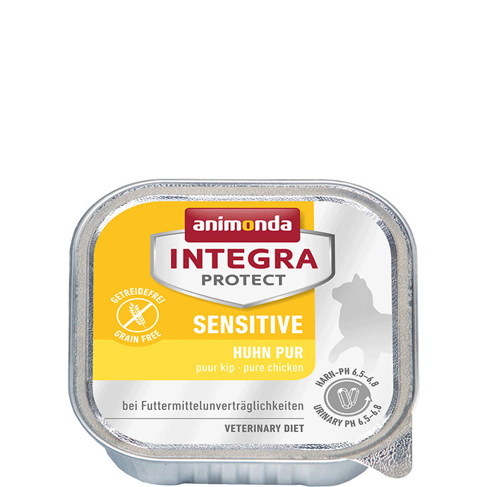 Animonda Integra Protect Sensitive Adult Pure Chicken 100 g 4017721866941 anmeldelser