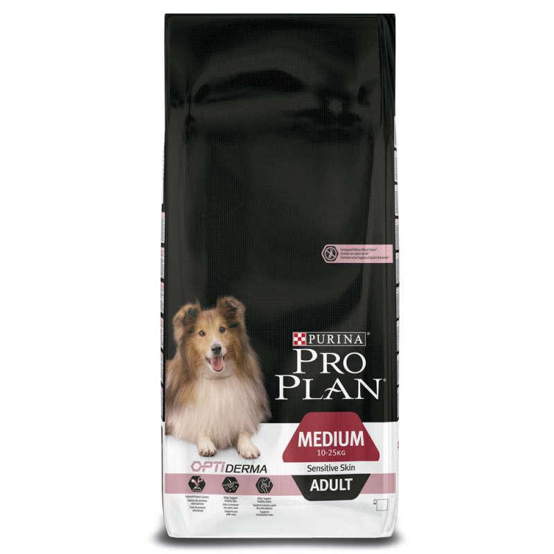 Purina Pro Plan Medium Adult - Optiderma reich rijk aan zalm 14 kg 7613035120464