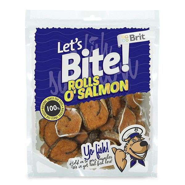 Brit Lets Bite Rolls o'Salmón 80 g 8595602513642 opiniones