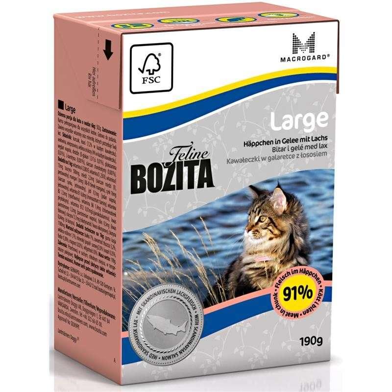 Bozita Cat Tetra Recart Feline Large 190 g