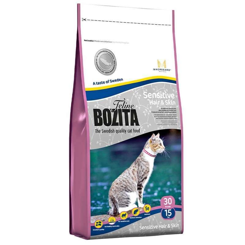 Bozita Feline Sensitive Hair & Skin 7311030305304 opinioni