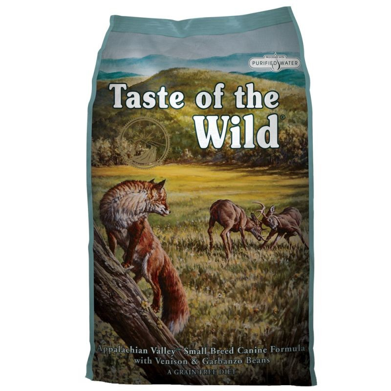 Taste of the Wild Small Breed Appalachian Valley avec le Cerfs & Pois chiches 6 kg