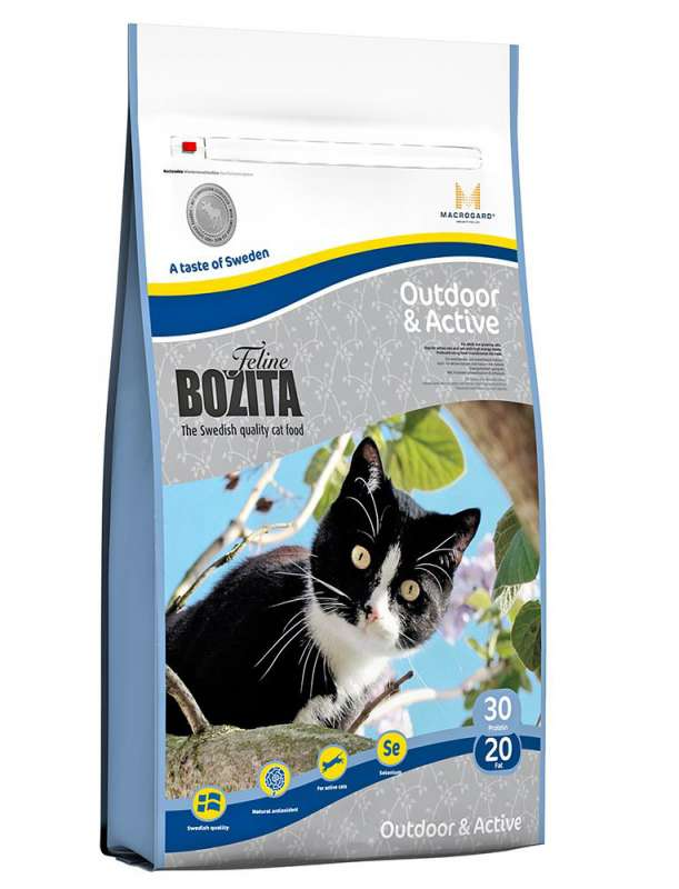 Bozita Cat Outdoor & Active 400 g, 2 kg, 10 kg
