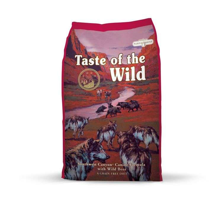 Taste of the Wild Southwest Canyon Vildsvin 0074198612512 erfarenheter